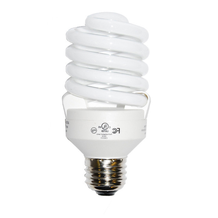 Luxrite 23w 120v Super Mini Twist Cool White 4100k Fluorescent Light Bulb
