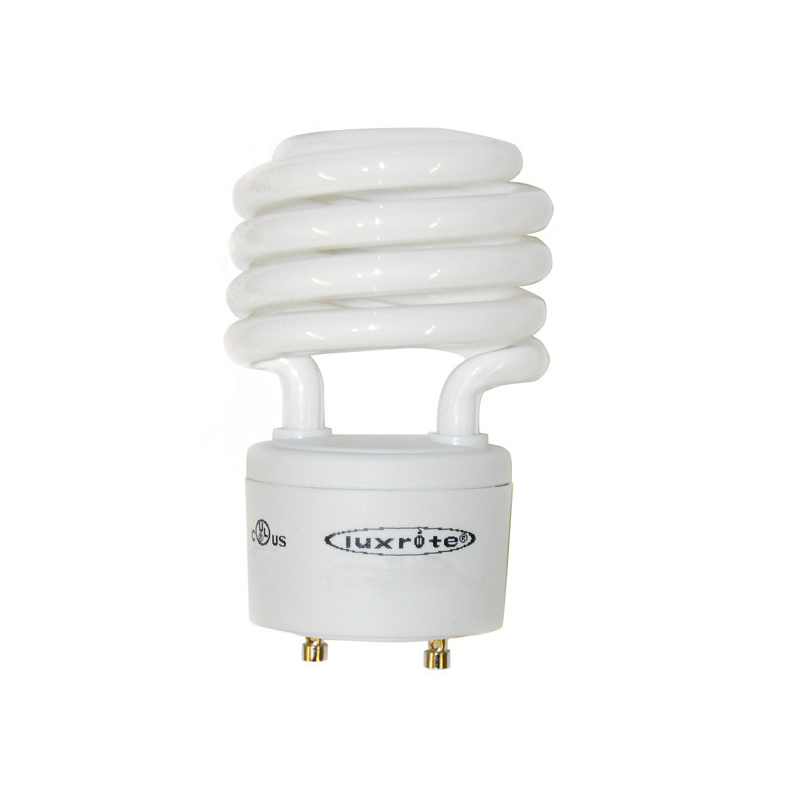 Luxrite 18w GU24 Twist T2 Cool White 4100k Fluorescent Light Bulb