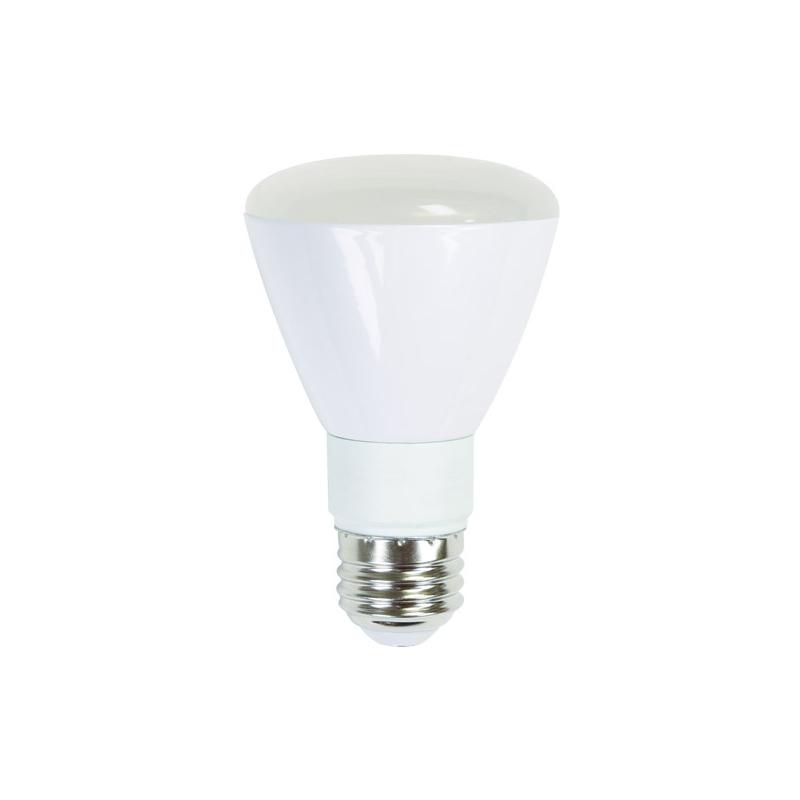 ushio 7w 120v led r20 reflector warm white dimmable. Black Bedroom Furniture Sets. Home Design Ideas