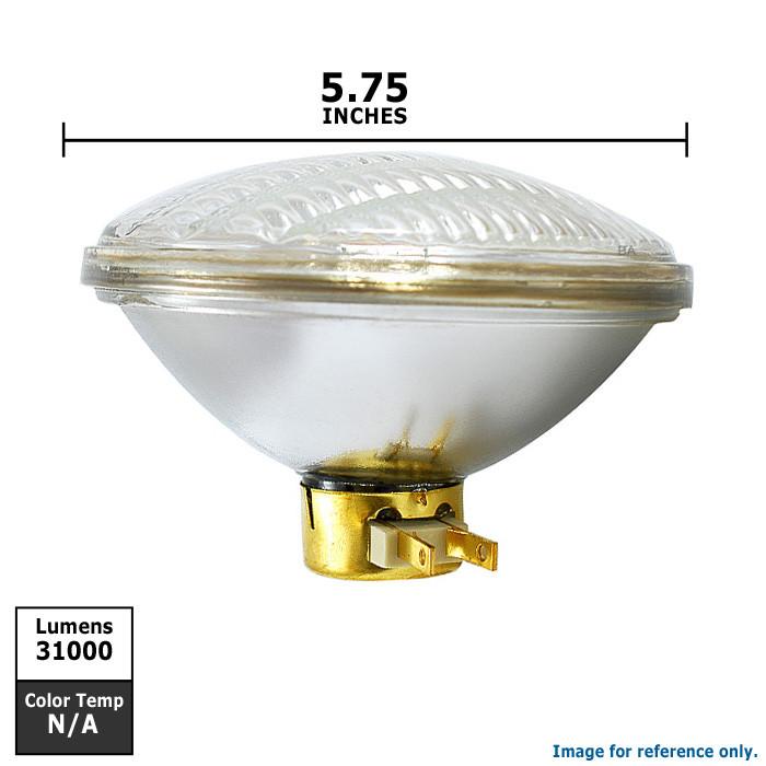 Satco S4344 200W 120V PAR56 Medium Flood light bulb