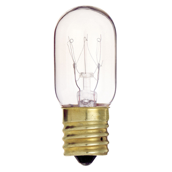 s4720 25w 130v t8 clear e17 intermediate base incandescent bulb ebay. Black Bedroom Furniture Sets. Home Design Ideas