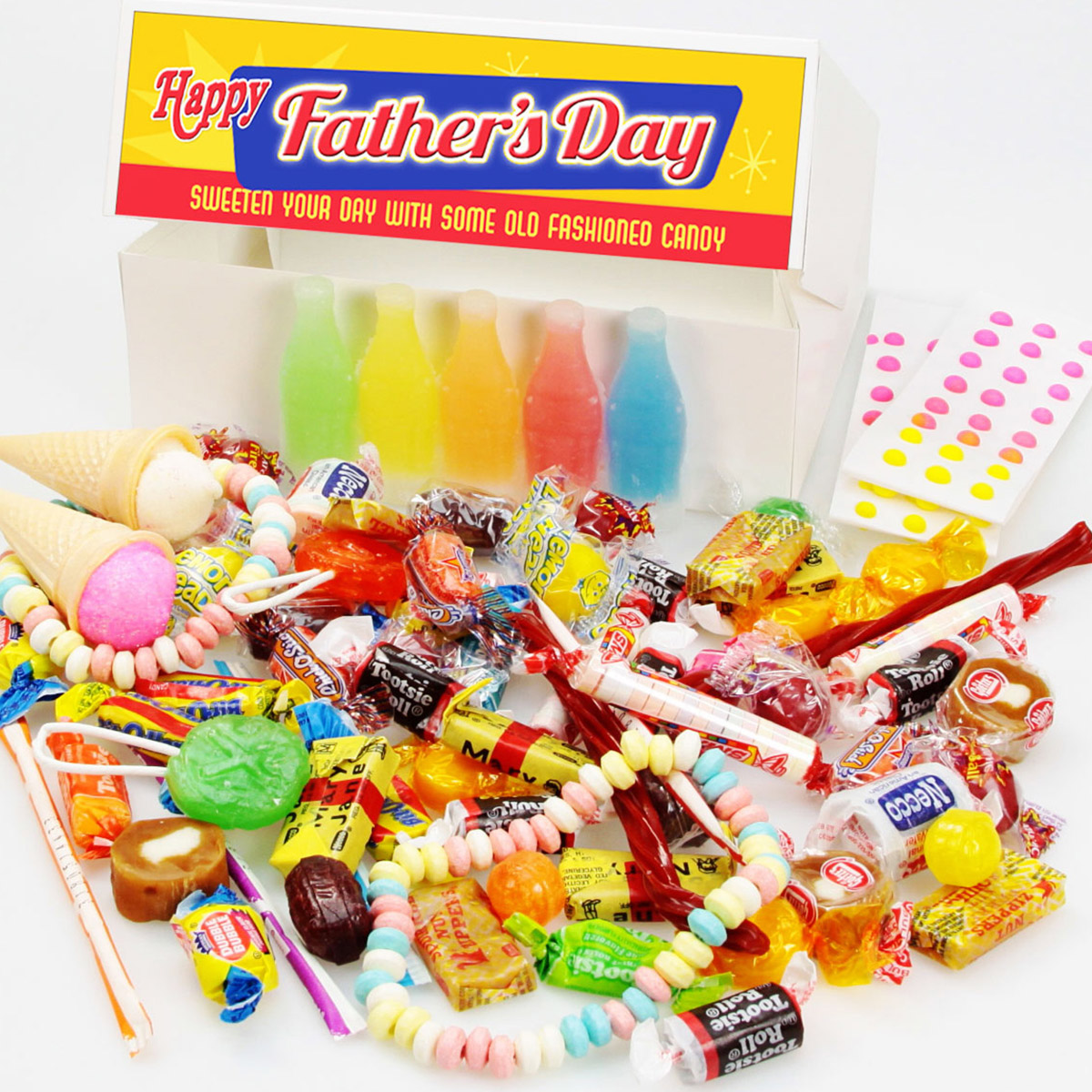 Fathers Day Old Fashioned Penny Candy Box Vintage Style