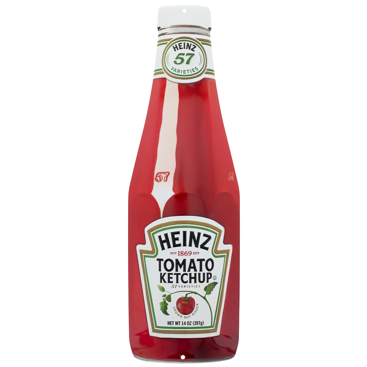 Heinz Tomato Ketchup Bottle Cutout Metal Sign Diner