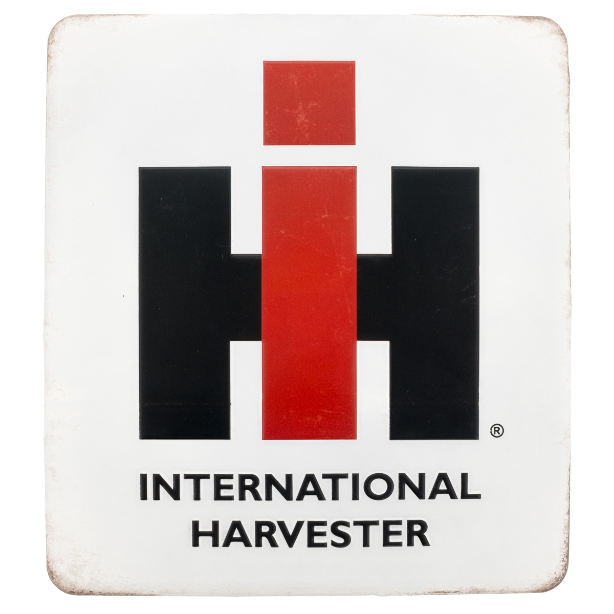 International harvester embossed tin sign vintage style for International harvester room decor