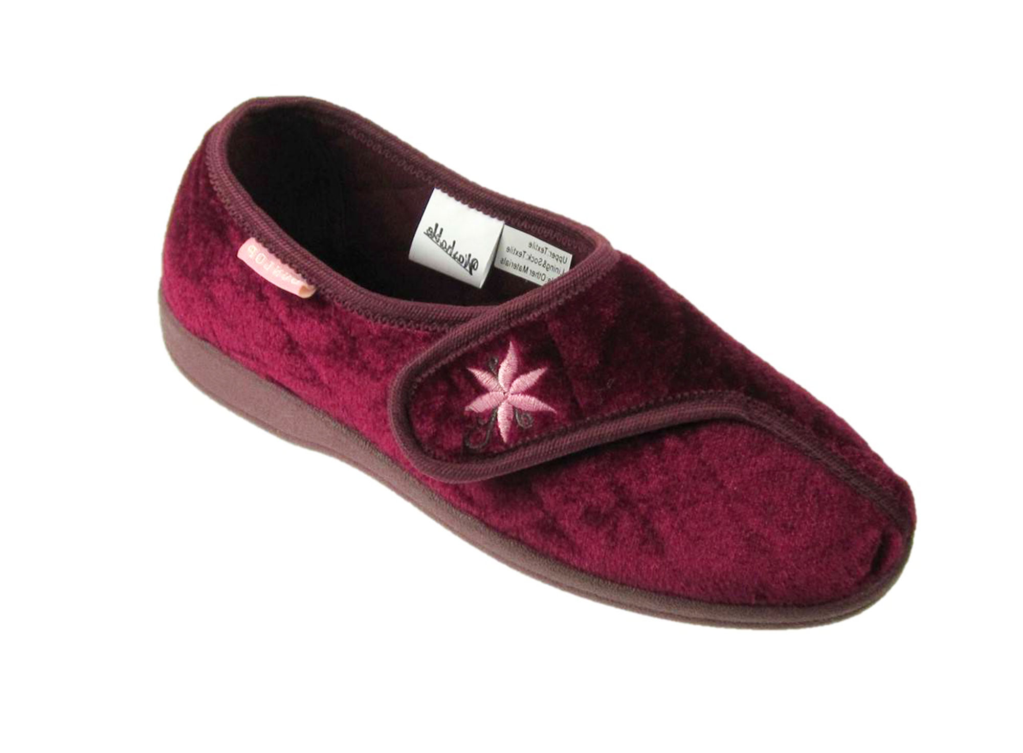 Womens Wide Fit Velcro Shoes