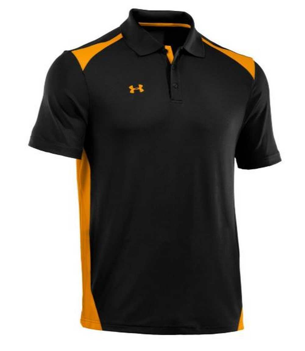 Under armour men 39 s team colorblock polo golf shirt for What stores sell polo shirts