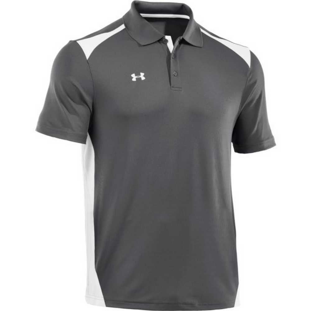 Under armour men 39 s team colorblock polo golf shirt for Under armor business shirts