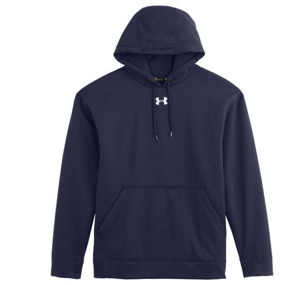 Under armour men 39 s team rival fleece team hoodie moisture for Under armour shirts at walmart