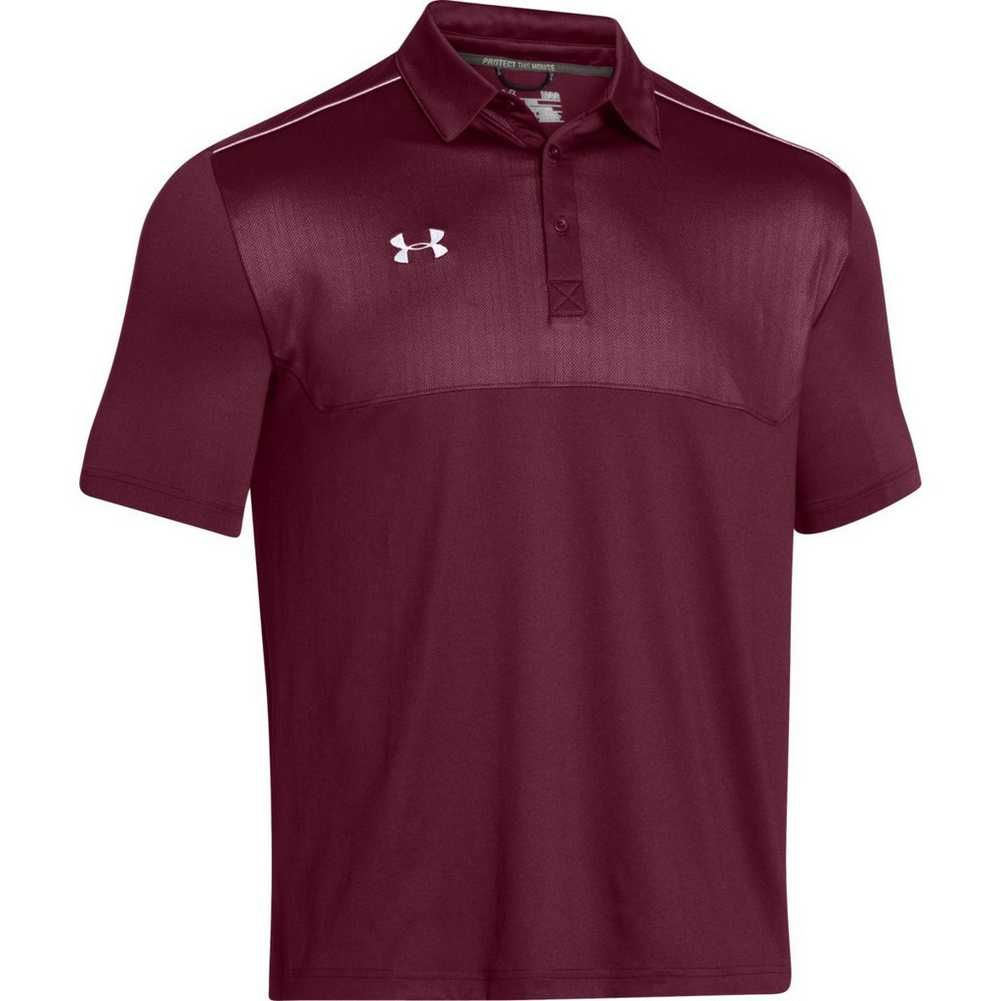 Under armour men 39 s ultimate golf polo shirt top assorted for Under armor business shirts