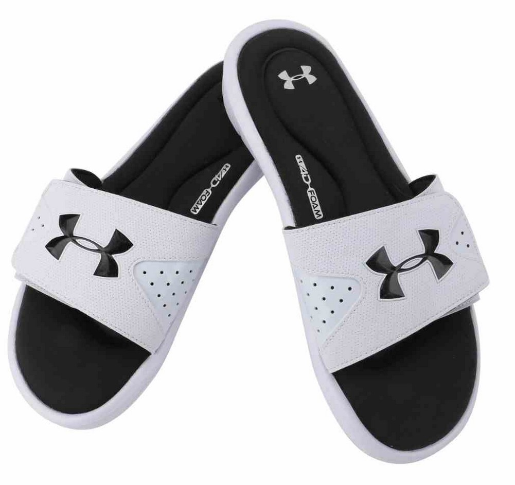 Under Armour Ignite Slippers Men Black/White