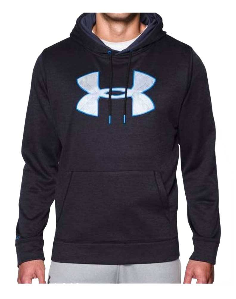 Under armour storm big logo hoodie