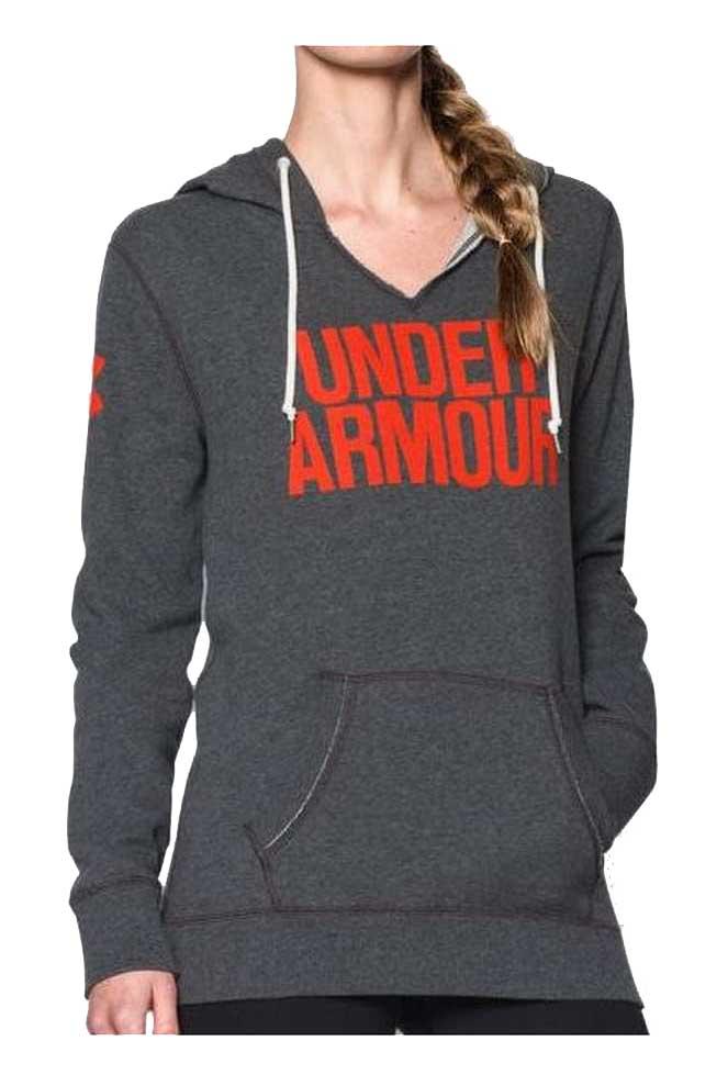 Under armour hoodie womens xxl full zip sweater for Womens golf shirts xxl