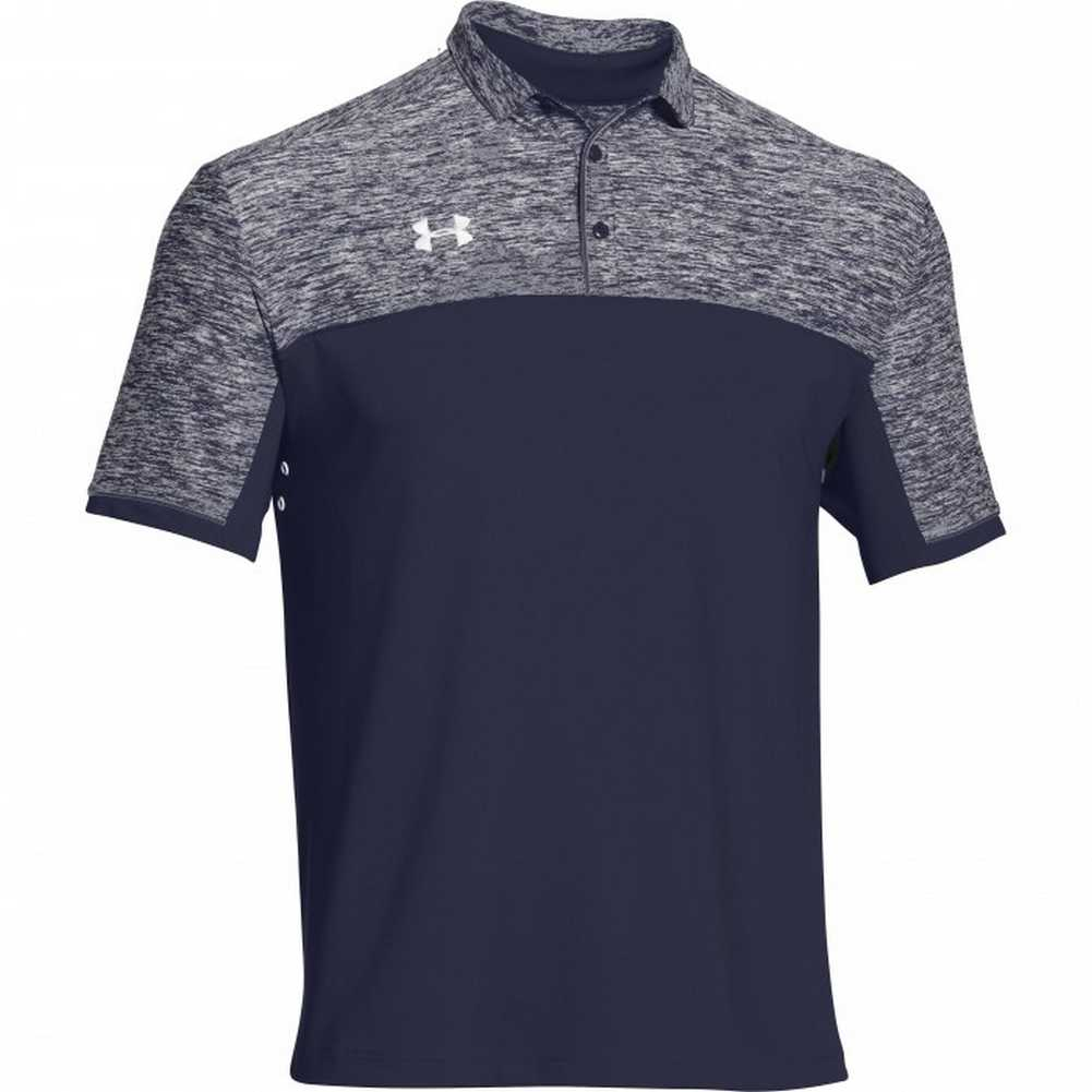 Under armour men 39 s team podium golf polo shirt top for Under armor business shirts