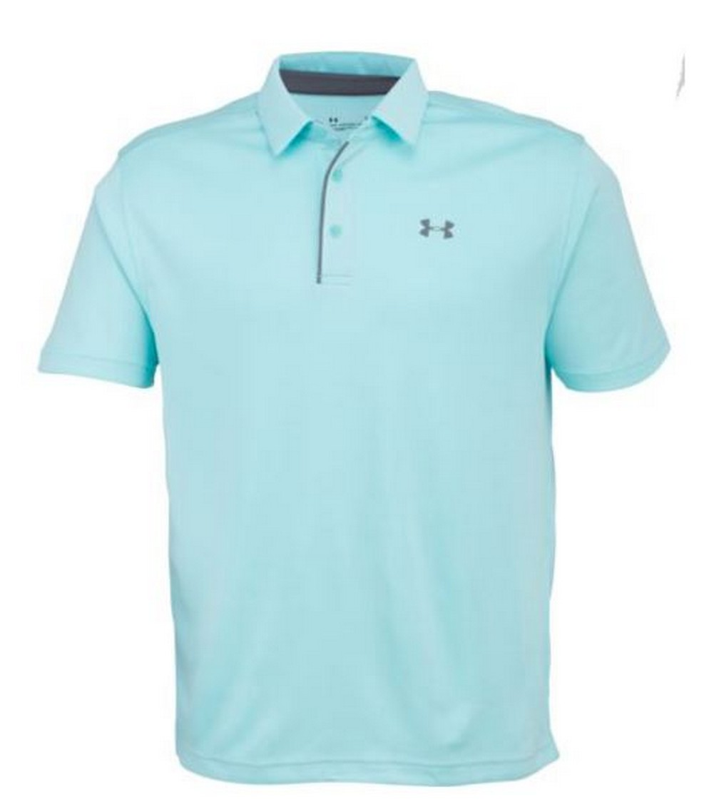 Under Armour Ua Mens Tech Ribbed Golf Polo Shirt 1290140 Ebay
