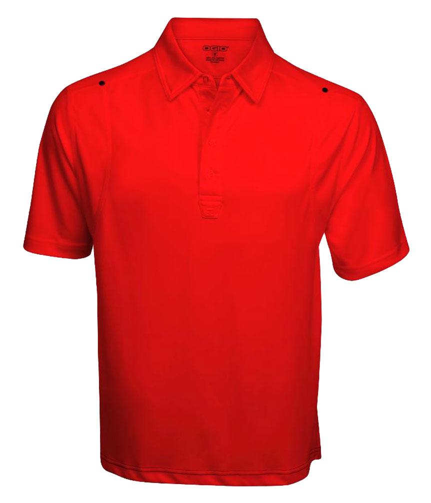 Ogio men 39 s golf rocker polo moisture wicking t shirt 1301 for Moisture wicking golf shirts