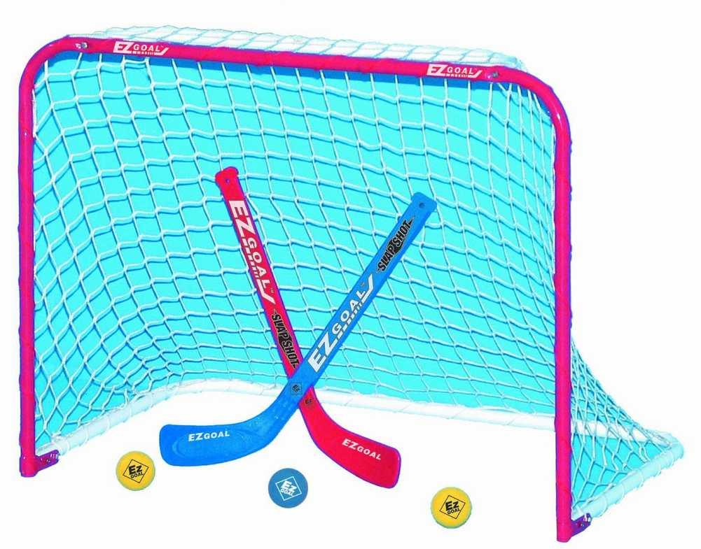how to build a knee hockey net