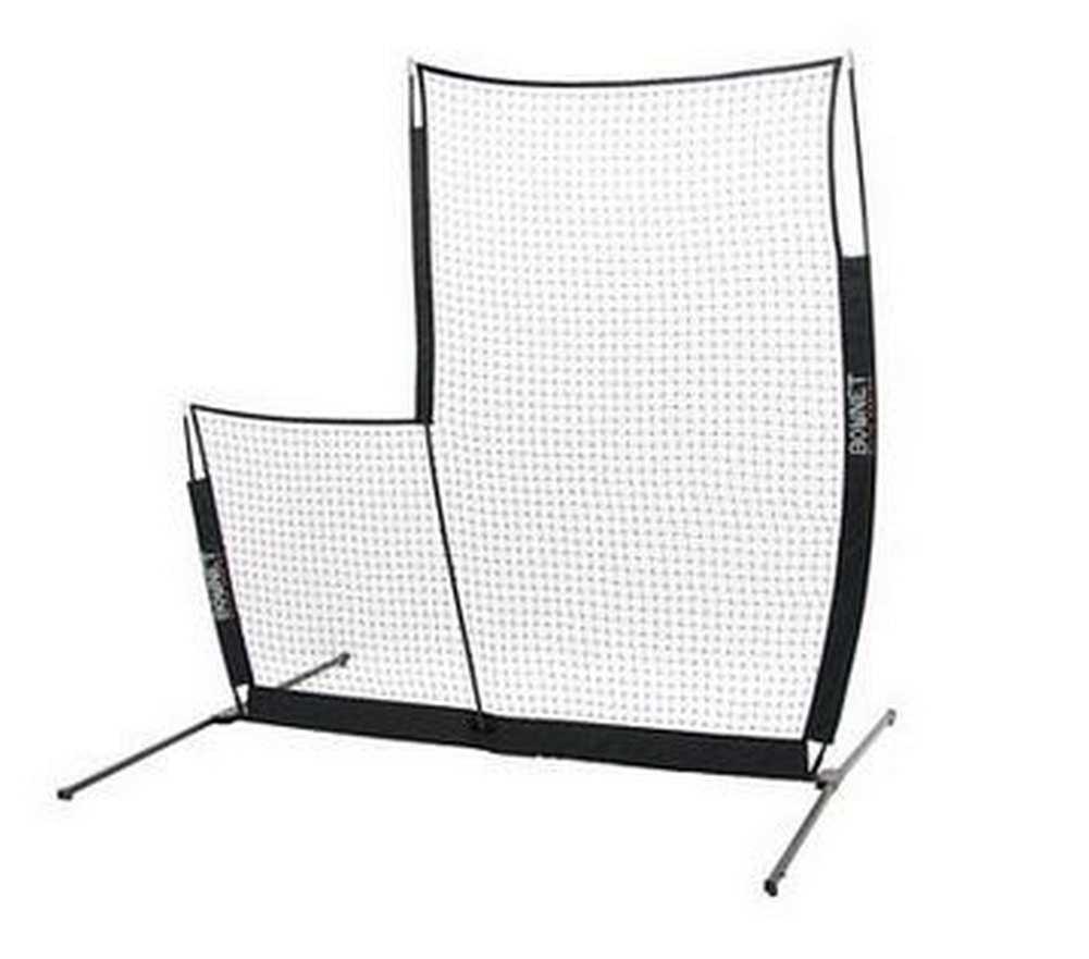 Portable L Screen : Bownet elite l screen portable net baseball softball