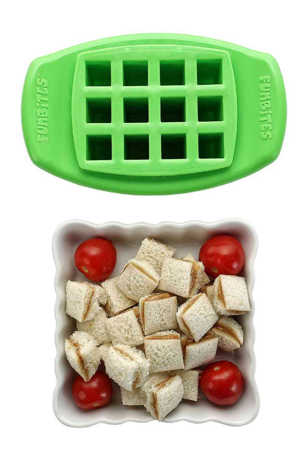 Funbites shaped food cutter cut food into bite sized for Funbites