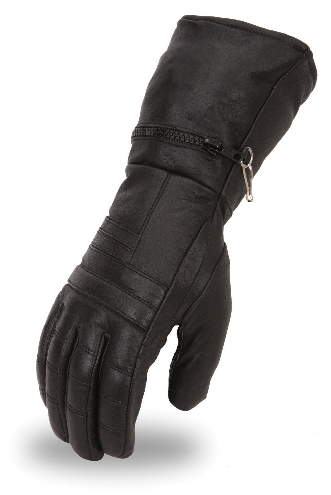 Insulated leather motorcycle gloves - Responsive Image Responsive Image