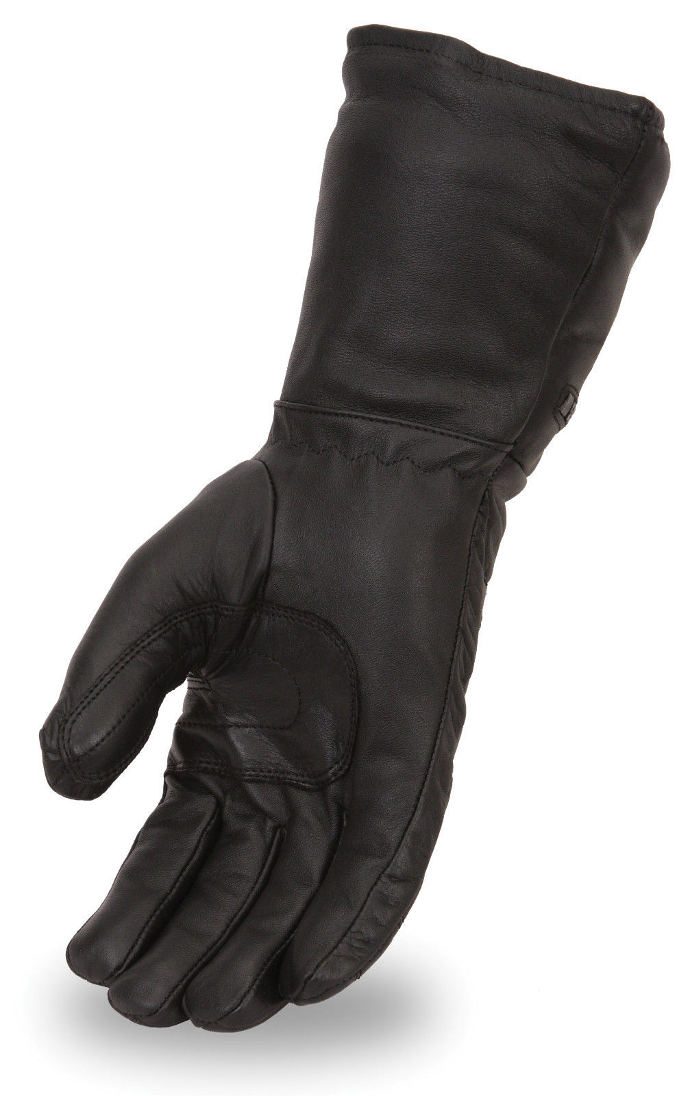 Insulated leather motorcycle gloves - Men 039 S Leather Motorcycle Gauntlet Gloves W Removable Waterproof Liner Fi120gl Ebay