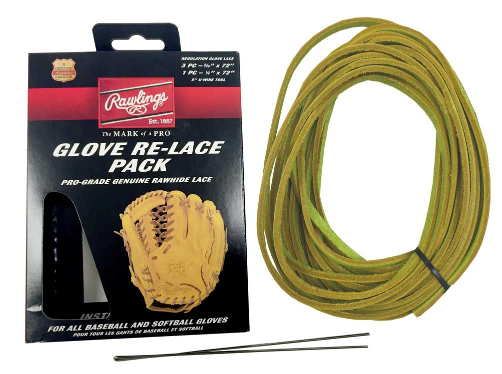 Rawlings Glove Re-Lace Pack, Pro-Grade Kit for Baseball ...
