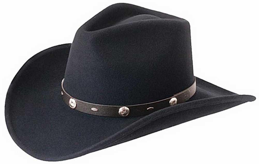 "Silverado ""Rattler"" Men's Crushable Wool Western Cowboy ..."