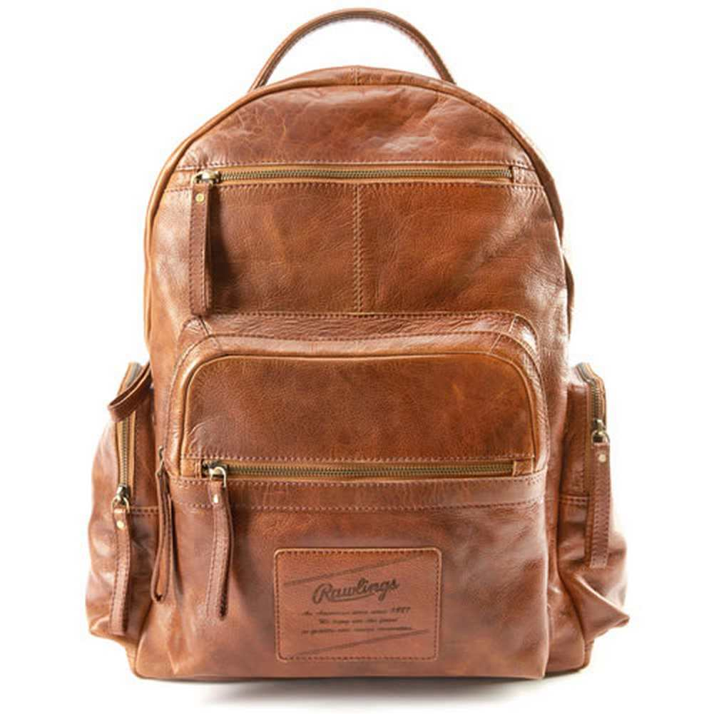 Rawlings Red Label Rugged Series Leather Backpack - V604-202