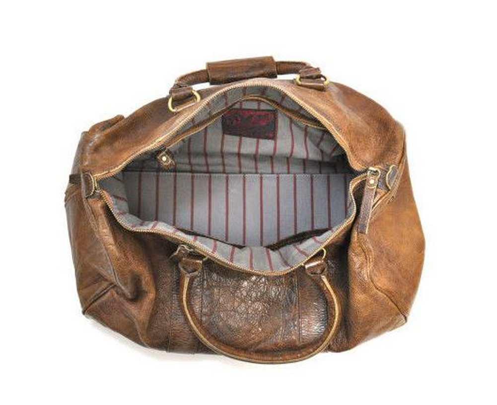 Rawlings Baseball Origins Vintage Leather Duffle Bag V703