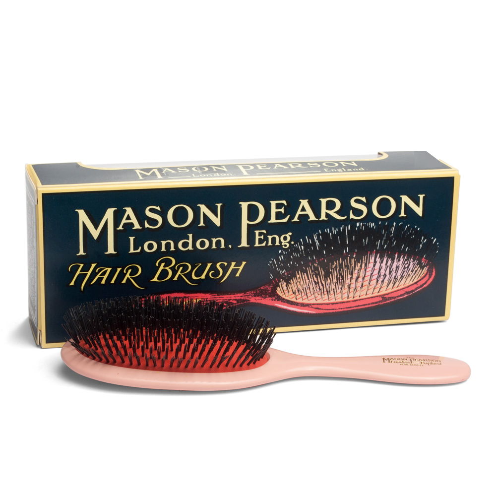 Mason-Pearson-B1-Extra-Large-Pure-Boar-Bristle-Fine-Hair-Brush-Cleaner ...