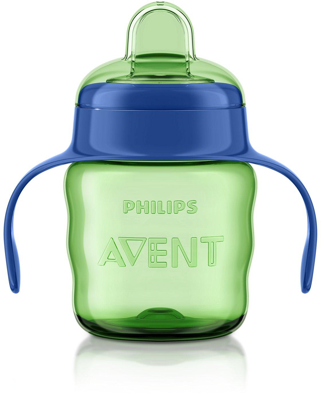 fille Philips avent bec verseur tasse SCF551//13 facile sip 7 oz//200 ml 6m+
