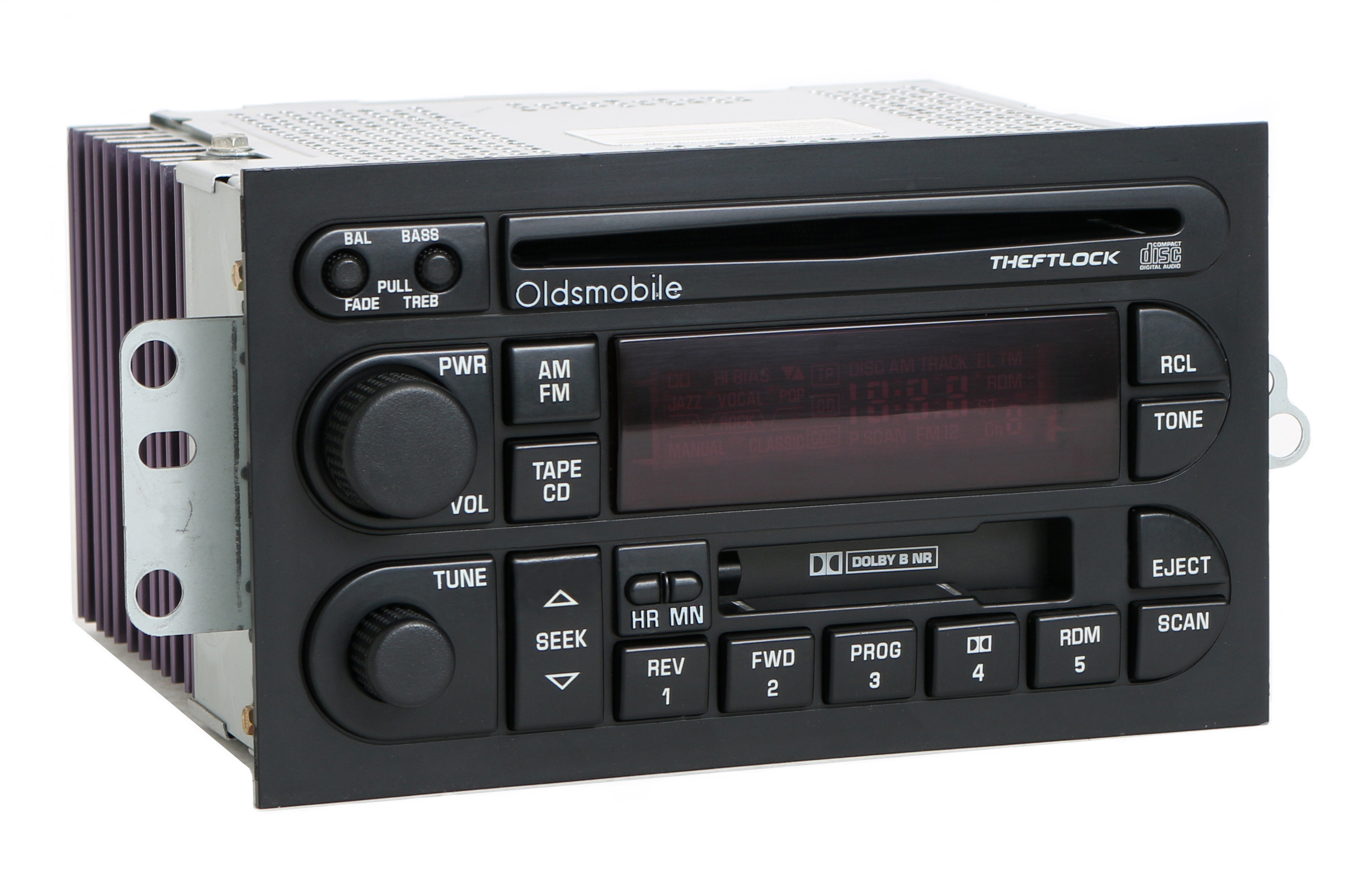 oldsmobile 1996 2000 achieva bravada custlass radio am fm cd cassette 16213343 ebay. Black Bedroom Furniture Sets. Home Design Ideas