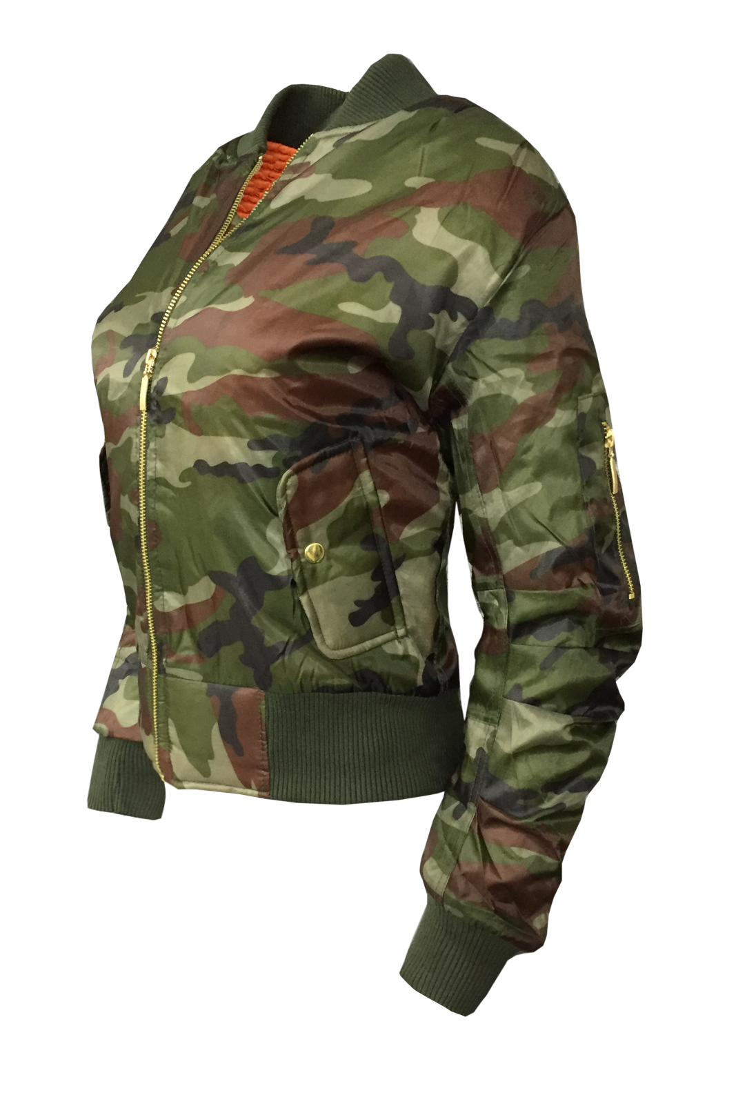 tru blu femme ma1 veste camouflage femmes militaire arm e bomber biker fly manteau ebay. Black Bedroom Furniture Sets. Home Design Ideas