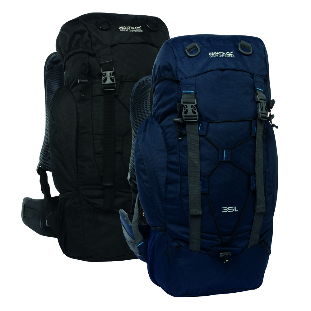 regatta survivor ii 35 litre rucksack rrp 40 ebay. Black Bedroom Furniture Sets. Home Design Ideas