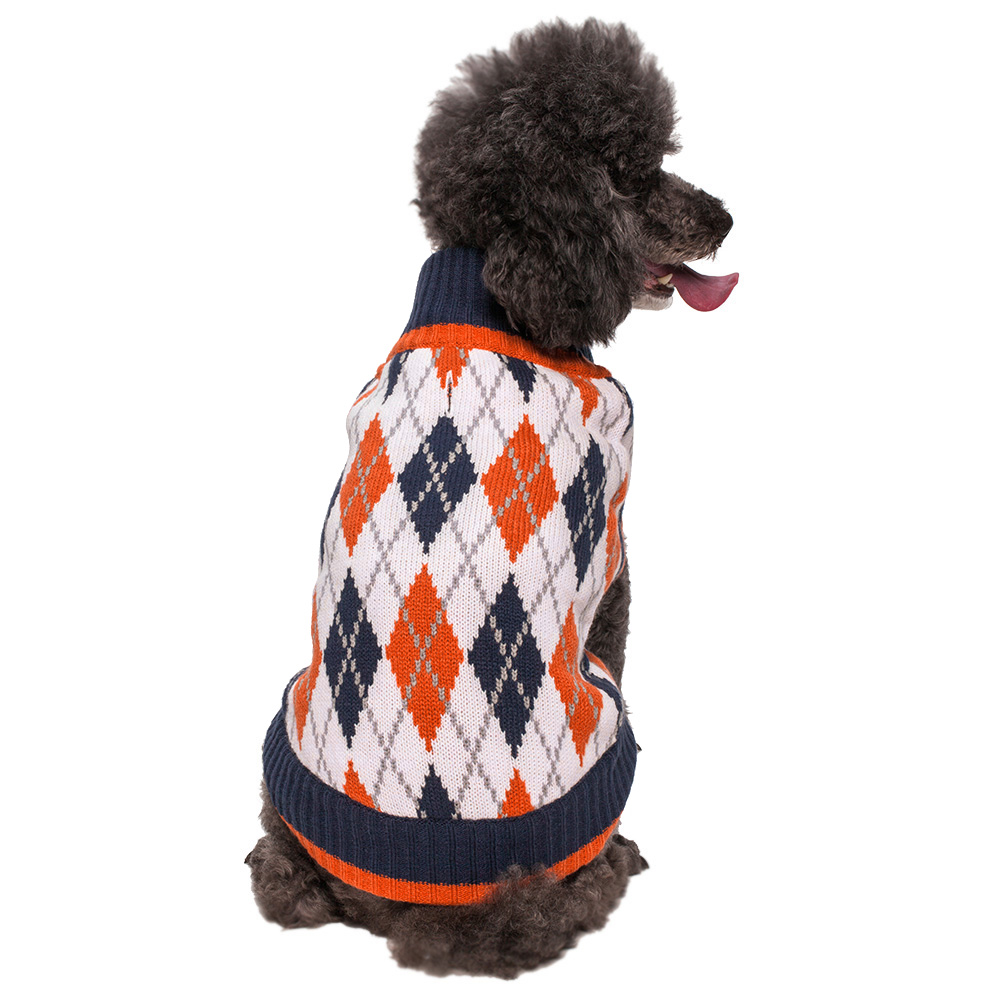 Blueberry-Pet-Dog-Clothes-Chic-Argyle-All-Over-Acrylic-Dog-Sweater-2-Colors