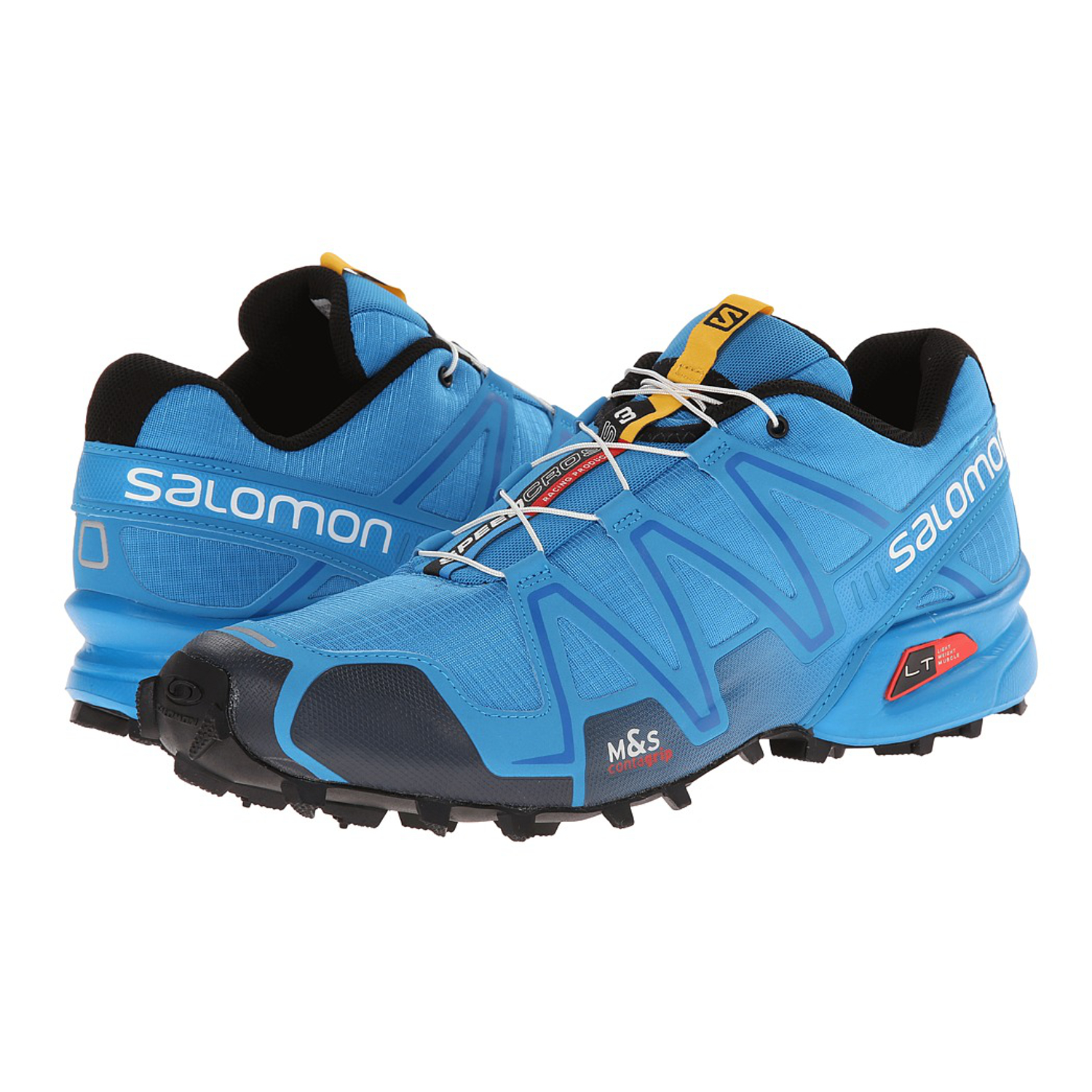 100 authentic salomon speedcross 3 mens running shoes methyl blue deep blue ebay. Black Bedroom Furniture Sets. Home Design Ideas