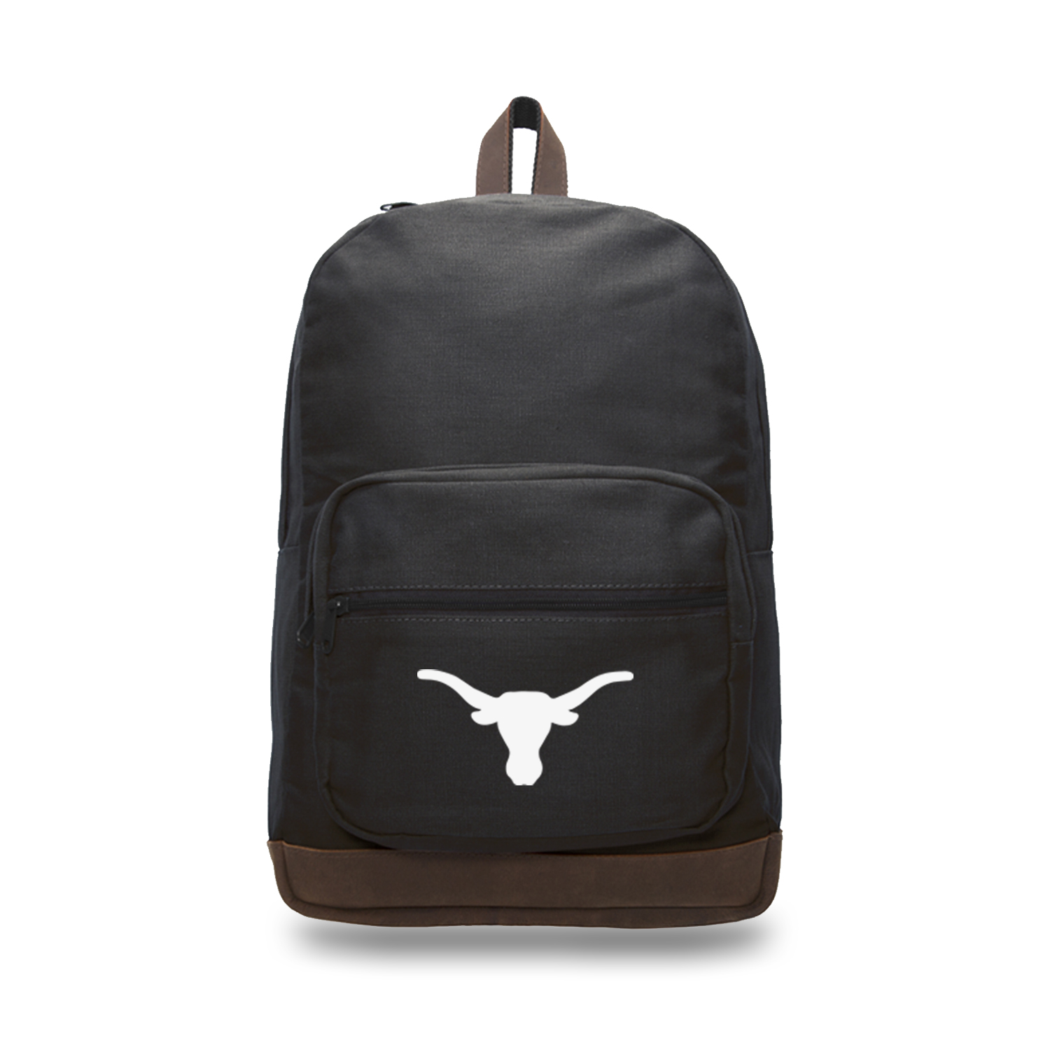 Texas Longhorns Canvas Leather University Laptop Backpack Best