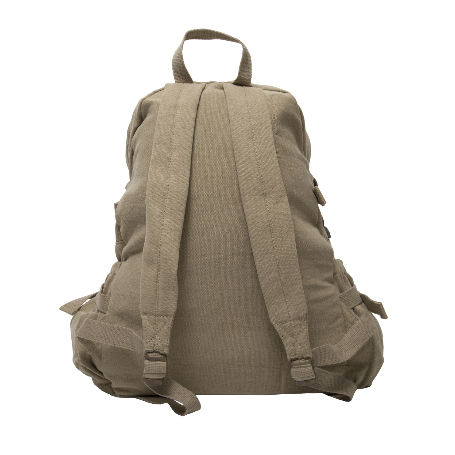 army force gear biohazard symbol canvas military backpack travel