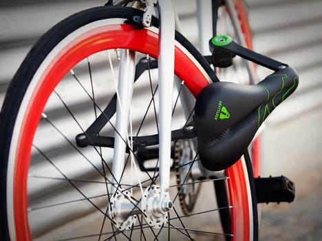 SEATYLOCK Confort Heavy Duty Perceuse Résistant Anti-Vol Selle de vélo serrure