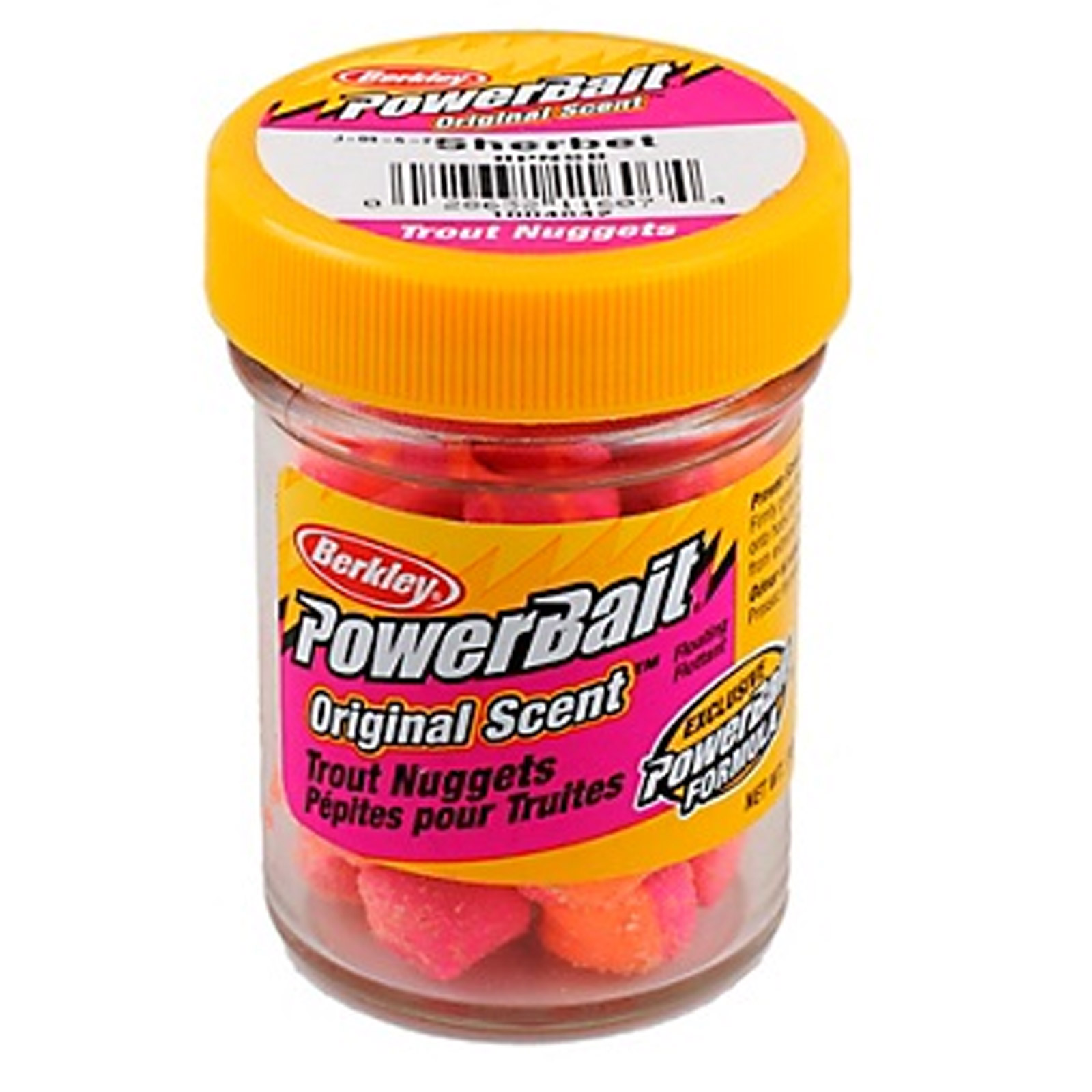 Berkley powerbait power nuggets fish attractant ounce for Fishing with powerbait
