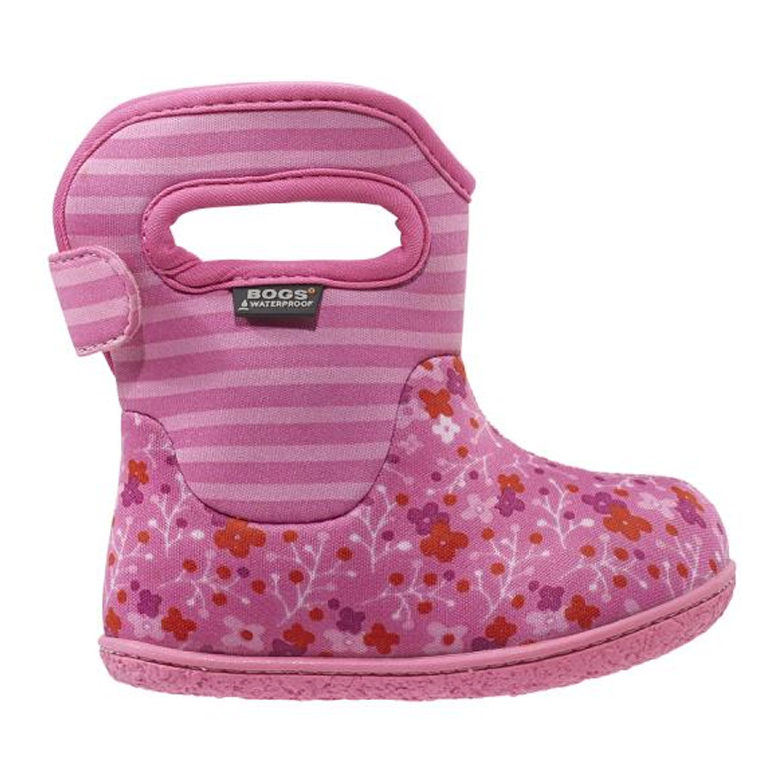 bogs 71565i baby s flowers stripes classic