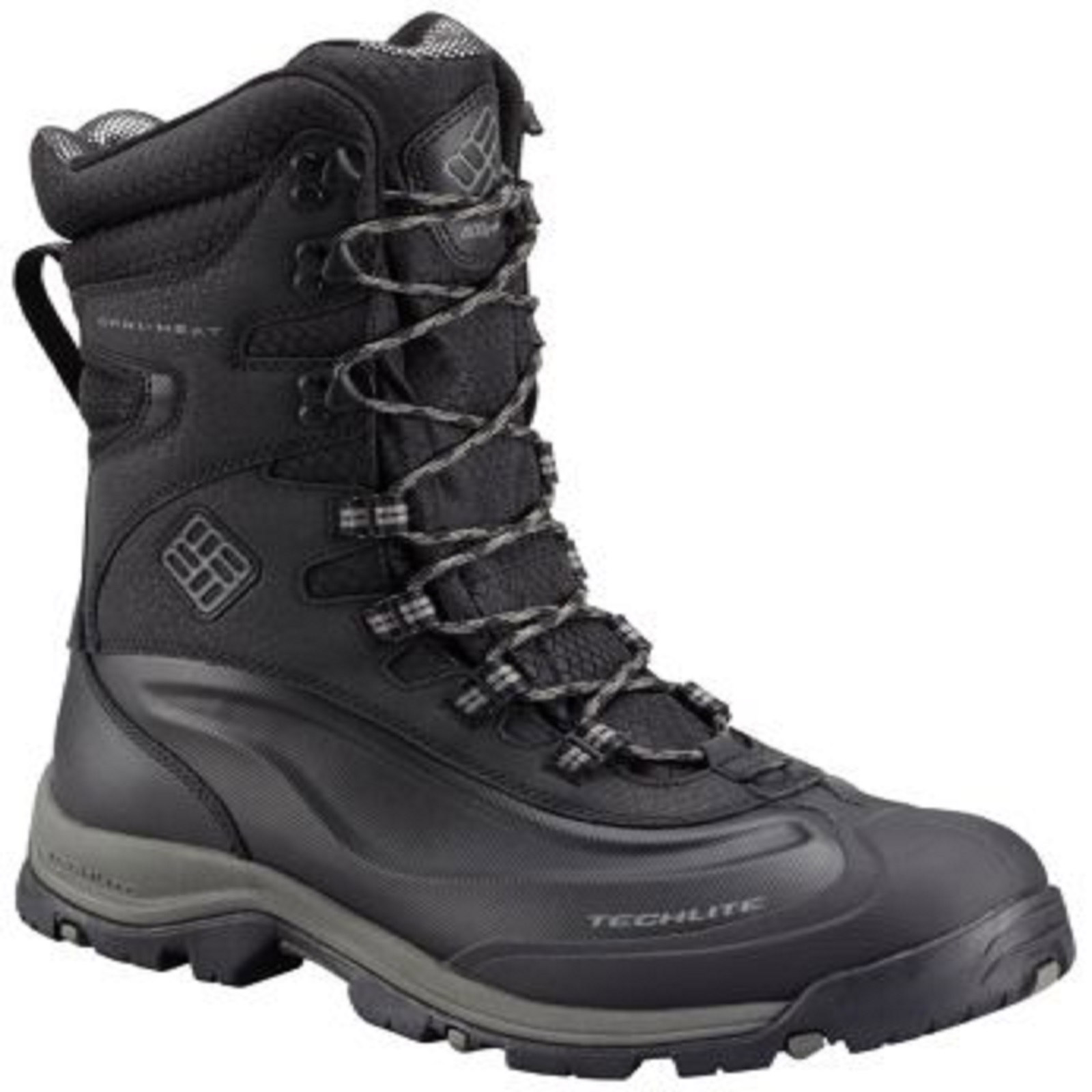 Columbia 1626241 Men S Black Bugaboot Plus Iii Xtm Omni
