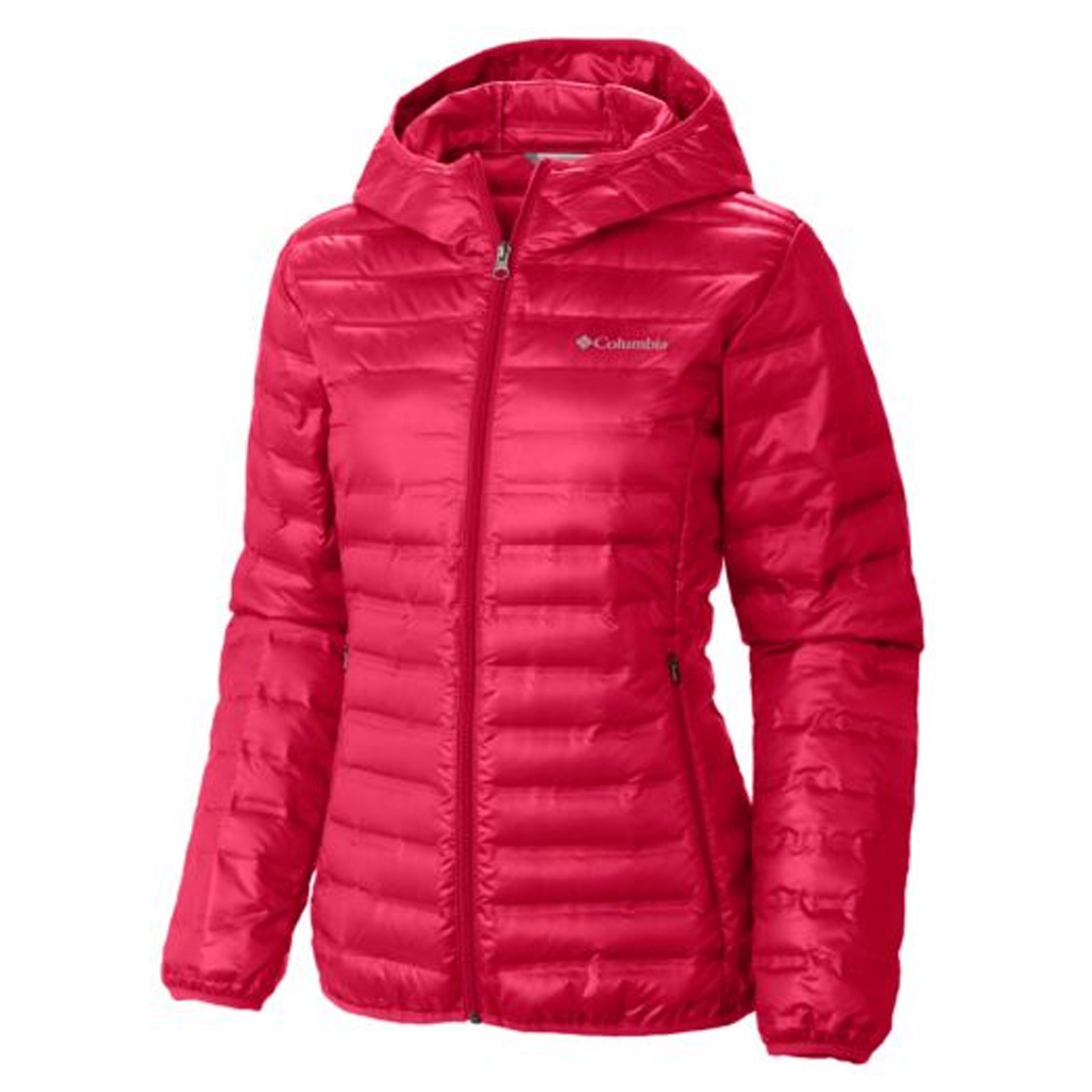 Red down jacket women