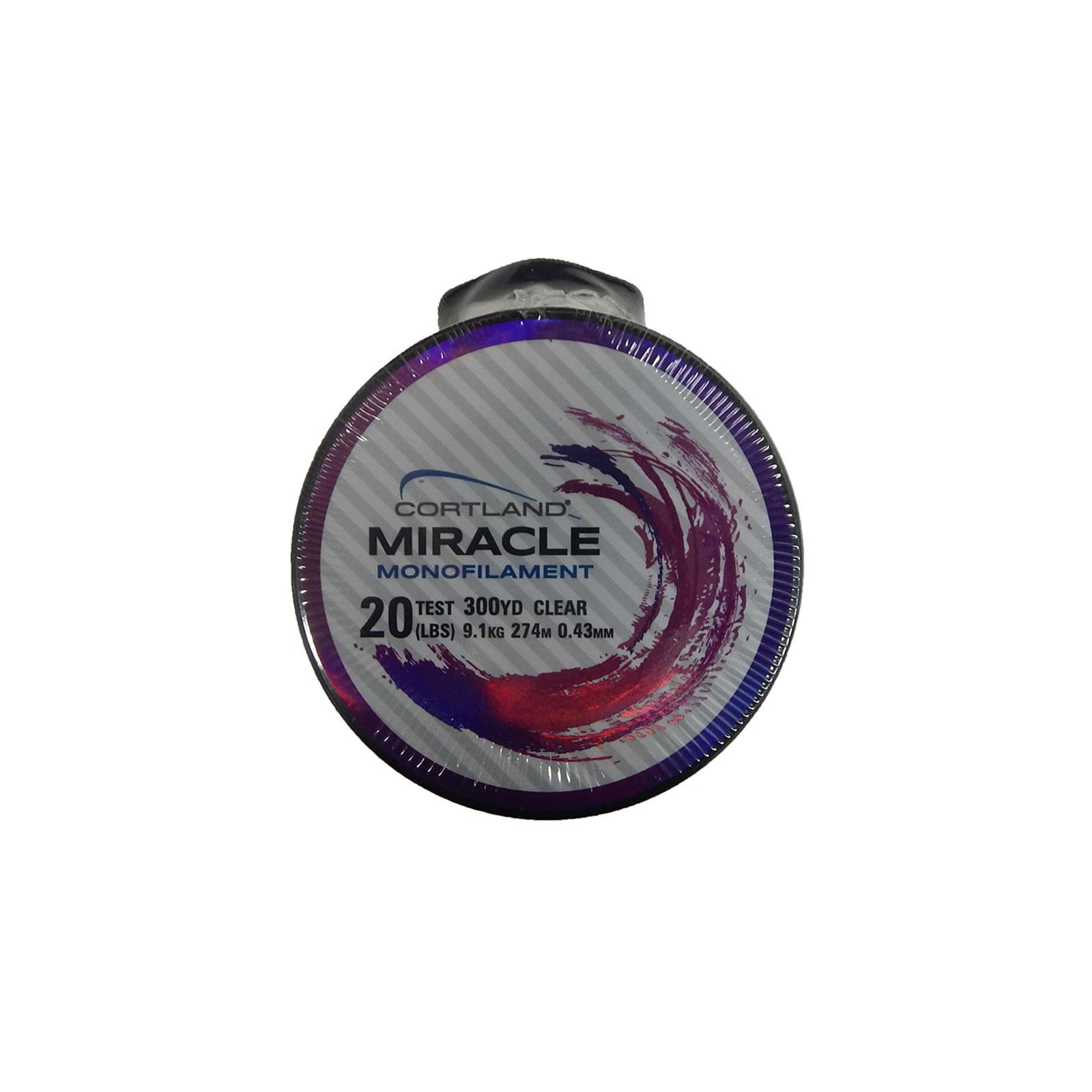 Cortland 257245 miracle mono monofilament fishing line 20 for 20 lb fishing line