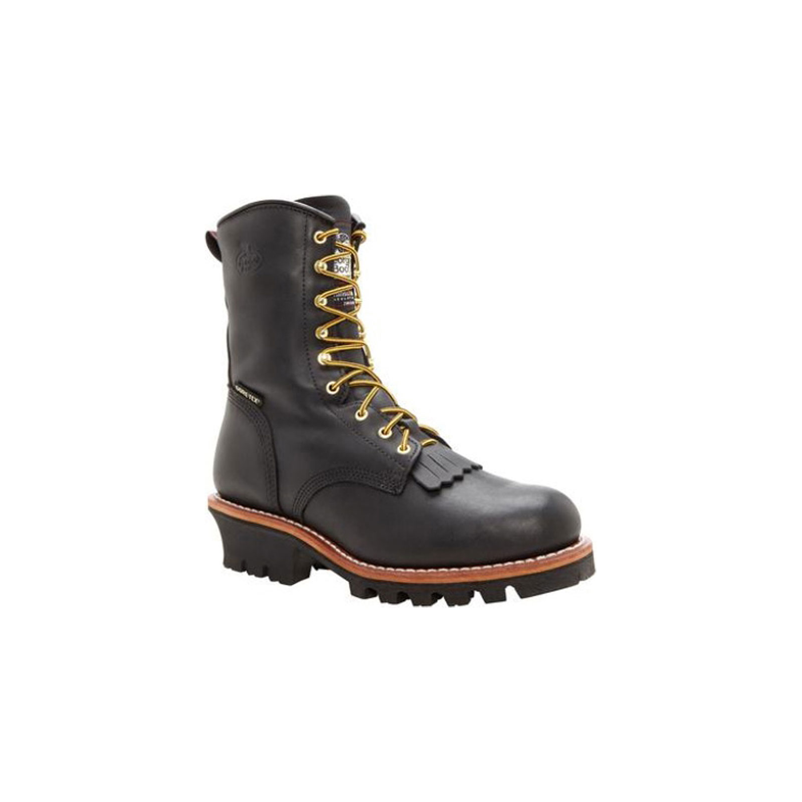 Georgia G9380 Men S 8 Quot Black Gore Tex Steel Toe Waterproof