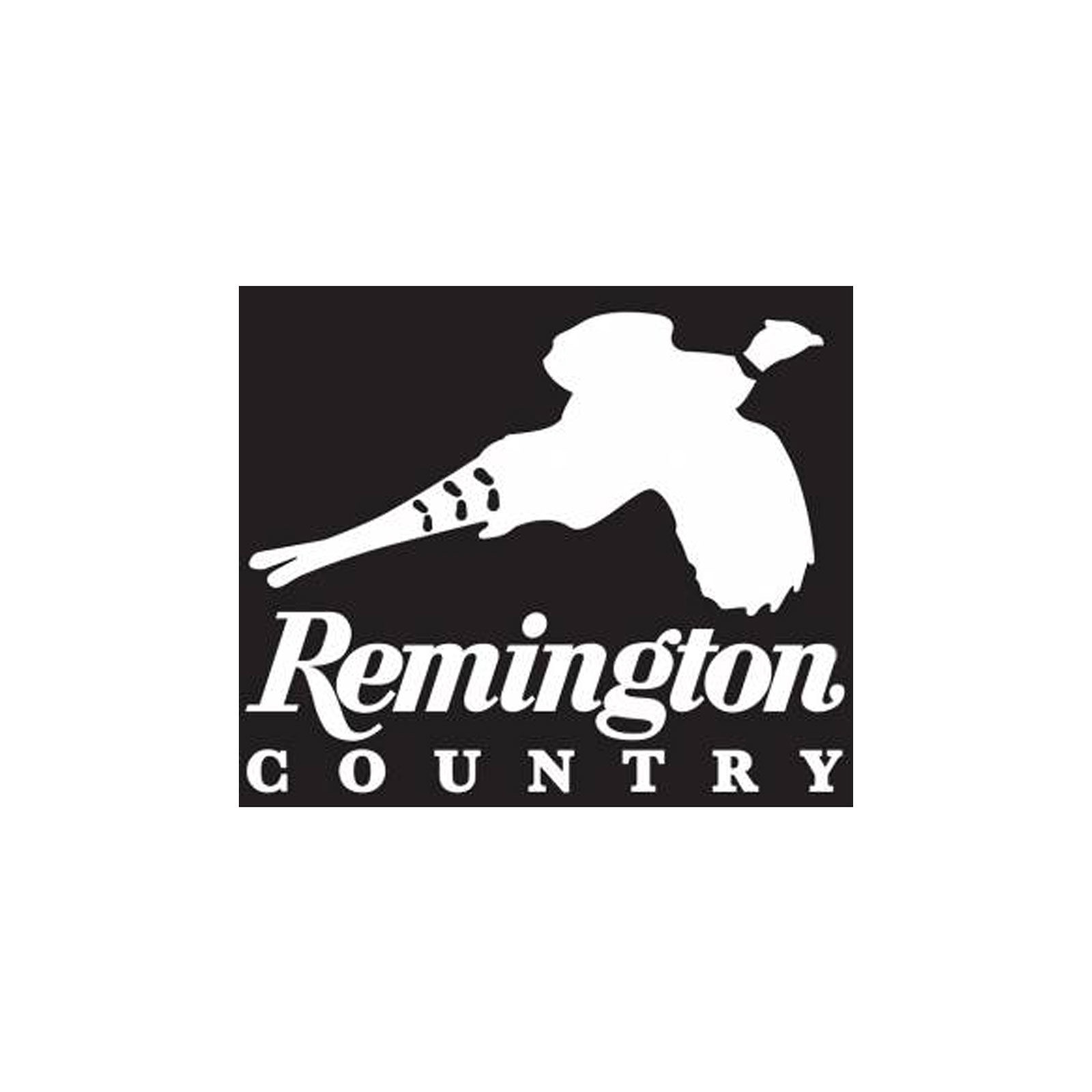 Remington Country 17416 White Die Cut Vinyl Decal Pheasant