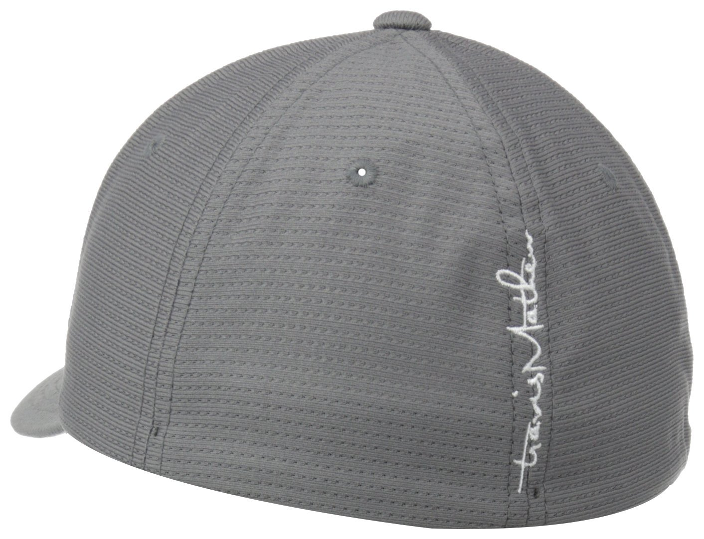 I own over 6 Travis Mathew hats, all of them are different in their own way. But they all fit the same, if you sweat, every hat will show sweat marks, reading comments of people complaining about that is pointless, this hats fits the best and the most comfortable out of all the TM hats I have.