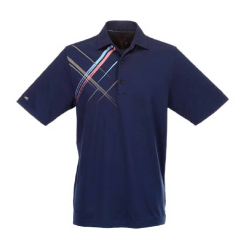 New greg norman golf screen print polo shirt pick size for Screen printing polo shirts