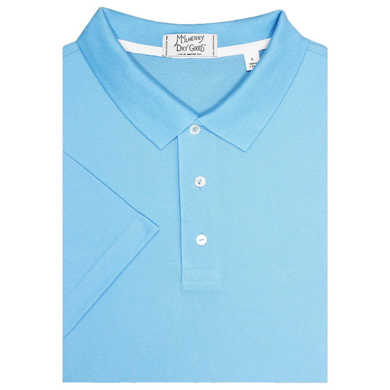 Mcilhenny Dry Goods Tabasco Mens Pique Golf Polo Shirt