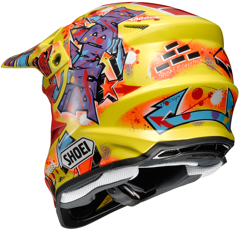 shoei vfx w barcia moto off road helmet closeout ebay. Black Bedroom Furniture Sets. Home Design Ideas