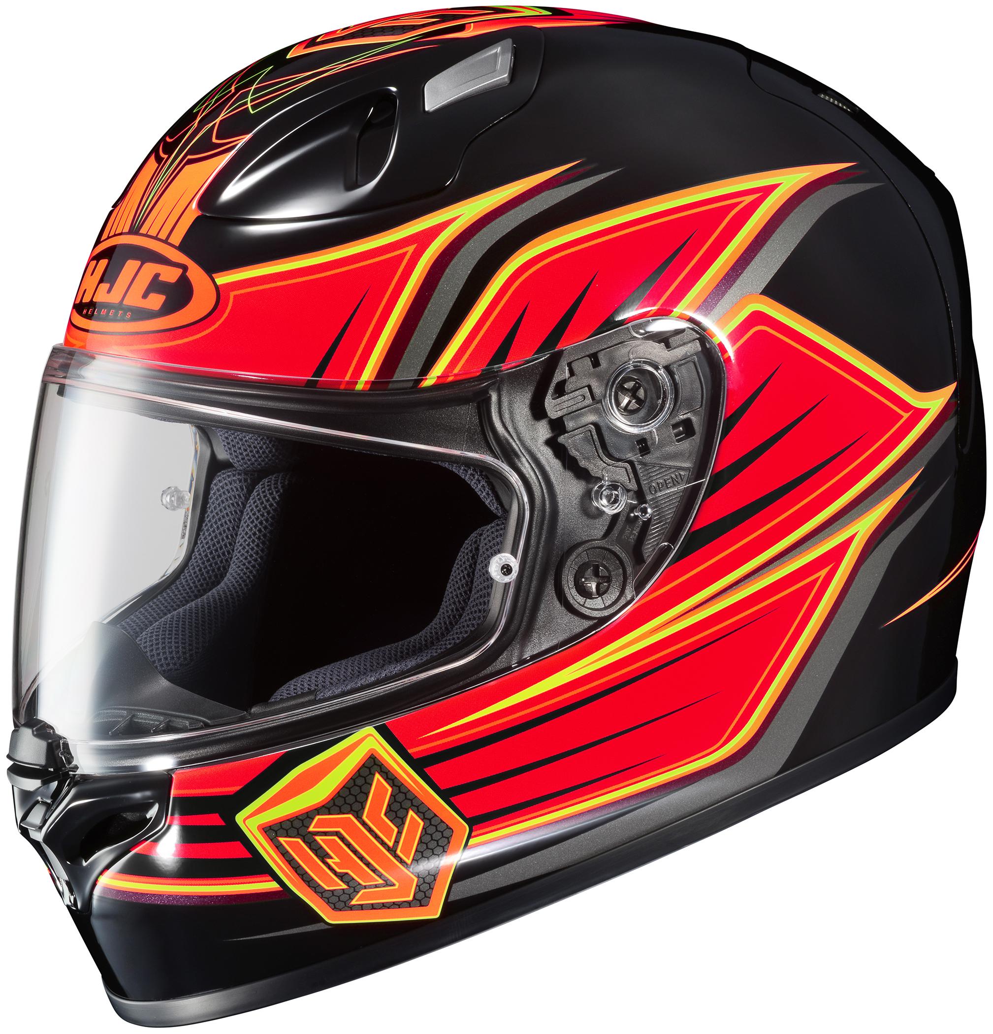 hjc fg 17 banshee motorcycle helmets closeout ebay. Black Bedroom Furniture Sets. Home Design Ideas